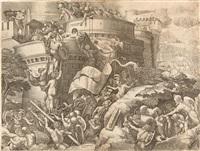 die eroberung von karthago by georg pencz