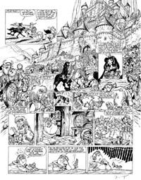 percevan, planche 10 (from album les sceaux de l'apocalypse) by philippe luguy