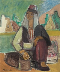 village woman by maide arel