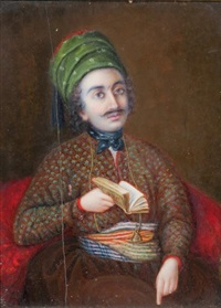 portrait de as'adyacoubkhayyat by maria louisa selwyn