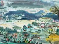 landscape by sindudarsono sudjojono