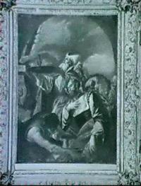 alttestamentarische opferszene by bartholomäus altomonte
