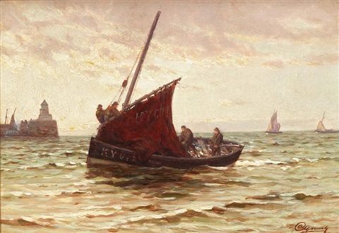 bringing in the catch by alexander young