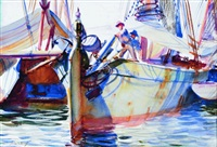 hoisting anchor by john whorf