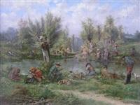 la partie de pêche by henri langerock