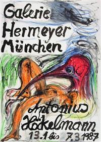 ohne titel (poster design) by antonius höckelmann