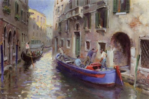 venice by terence cuneo
