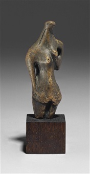 half-figure by henry moore