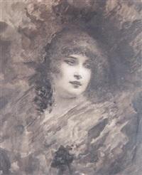 rostros femeninos by pedro ynglada