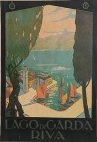 lago di garda-riva by antonio simeoni