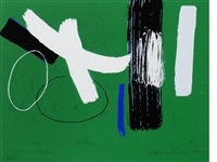 green (from millenium series) by wilhelmina barns-graham