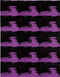 andy warhol, lavender disaster, 1996 by richard pettibone
