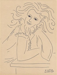 a lydia by henri matisse