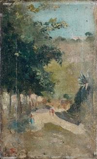 la promenade by telemaco signorini