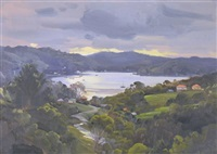 untitled (view to the bay) by ernest william buckmaster