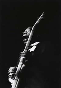 b.b. king by linda mccartney