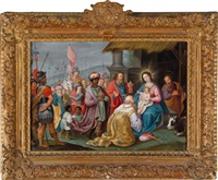 die anbetung der könige by pieter lisaert