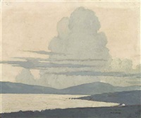 clew bay by paul henry