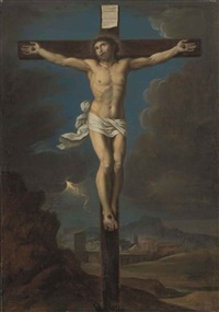 the crucifixion by nicolas mignard