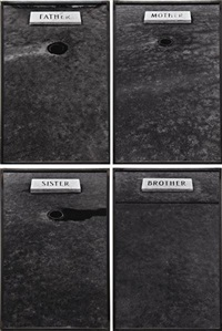 mother (+ 3 others; set of 4) by sophie calle