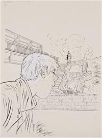 couverture (for fin de contrat) by alain dodier