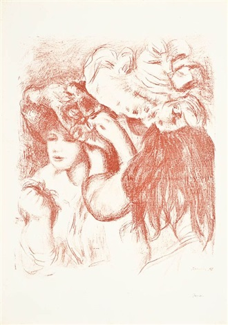 le chapeau épinglé, pl.1 by pierre-auguste renoir