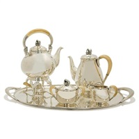tea and coffee service by holger rasmussen