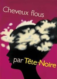 cheveux flous/par tête - noire by ruodi barth and fritz bühler