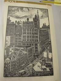 18th street and broadway (+ 3 others, irgr; 4 works) by betty waldo parish