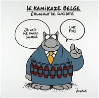 le kamikaze belge by philippe geluck