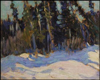 the swamp, algonquin park by james edward hervey macdonald