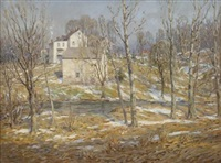 melting snow by charles morris young