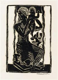 madonna and child by william zorach