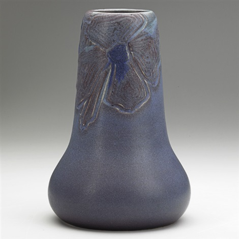 vase with dogwood blossoms by william e hentschel
