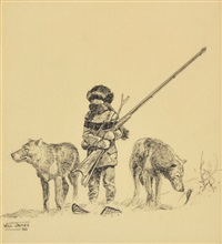 them wolves was a lot of company to me that winter by will james