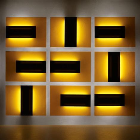superluminal lights (set of 9) by johanna grawunder