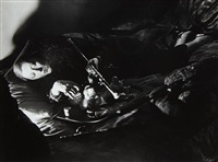 a female habituée (opium smoker) by brassaï