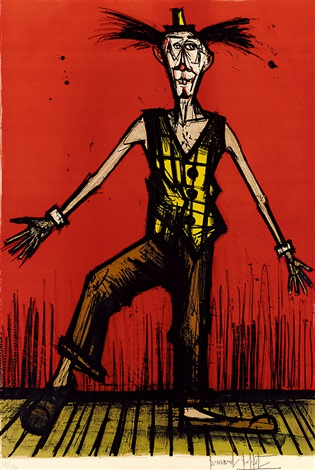 小丑 clown by bernard buffet