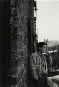 handsome jack with his brakeman's rule book in his pocket, 206 e 7 st., heroic kerouac by allen ginsberg