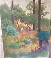 promenade dans les bois by evgeniy ivanovich pospolitaki