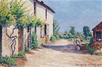maison à auxy by gustave camille gaston cariot