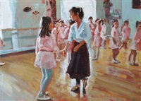 the ballet class by rowland davidson