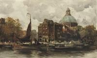 the koepelkerk along the singel, amsterdam by hobbe smith