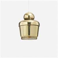 pendant lamp, model a330 by alvar aalto