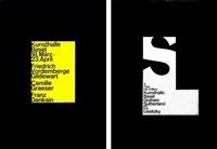 kunsthalle basel: graham sutherland/ el lissitzky - vordemberge/ graeser/ danskin (2 works) by armin hofmann