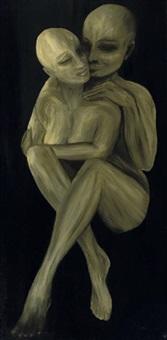 man and woman by onib olmedo
