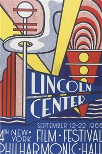 lincoln center poster by roy lichtenstein