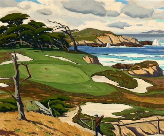 golf course, carmel by arthur hill gilbert
