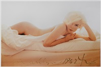 marilyn in the nude pour vogue, the last sitting by bert stern