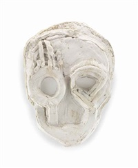 bottle mask by thomas houseago